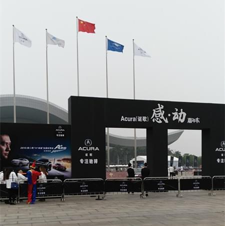 2015广州车展租赁MCD-6550X光安检机案例