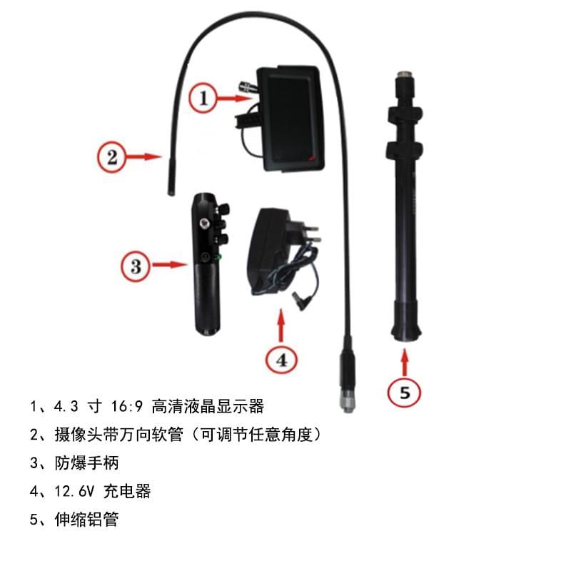 MCD-V10/车底检查系统
