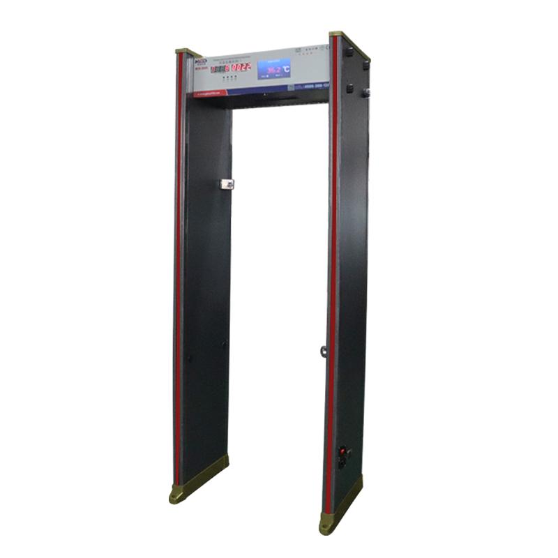 测温门带金属检测双功能安检门厂家MCD-300R深圳美创达诚